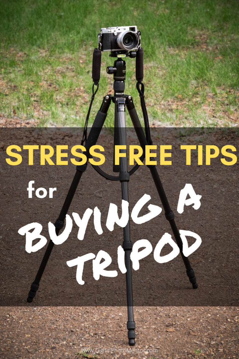 buying a camera tripod