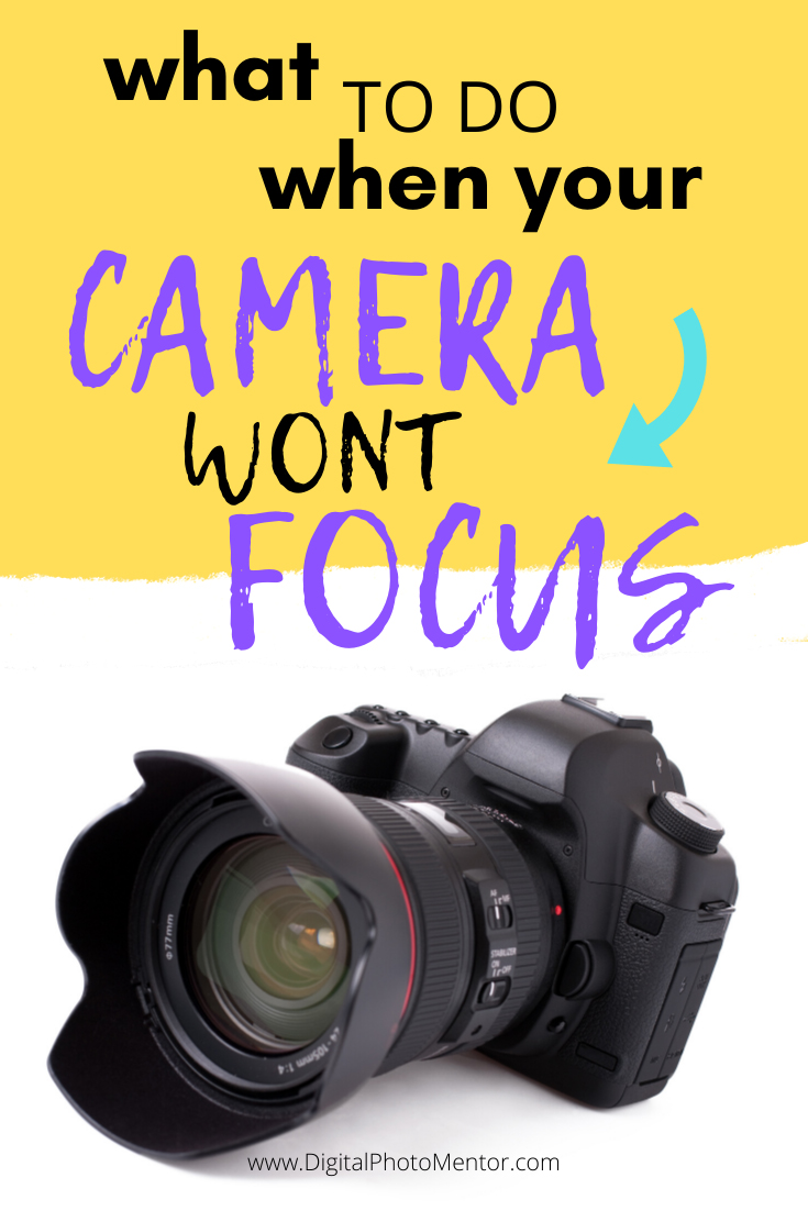 beginner photography tips for when your camera wont focus.