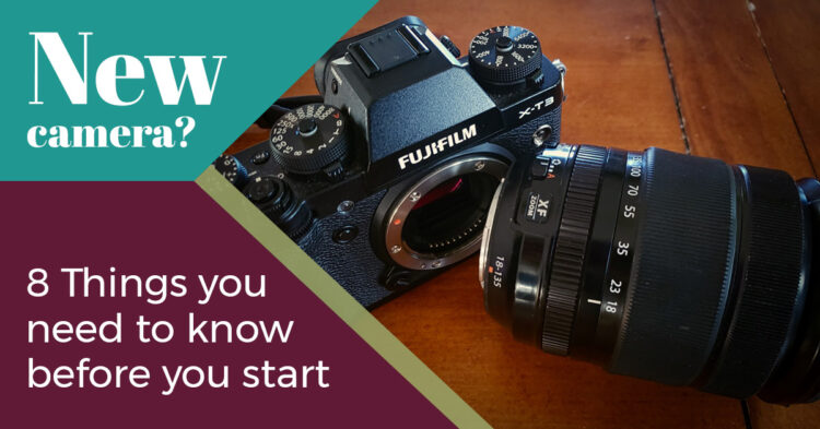 camera settings for your first camera