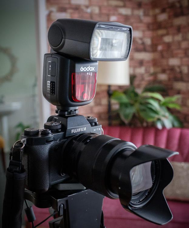 flash on camera