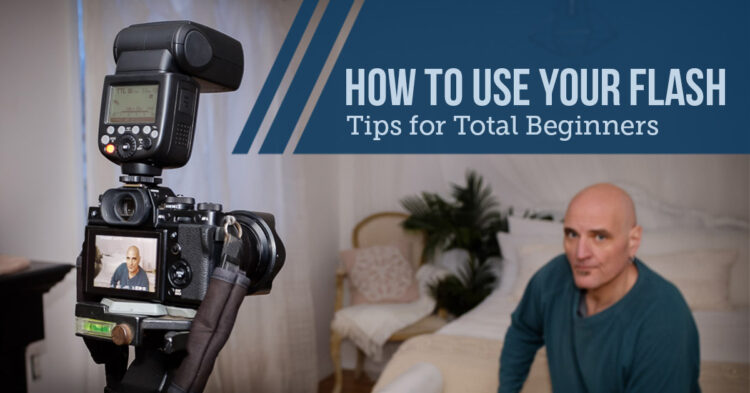 beginner flash photography tips for how to use your on-camera flash