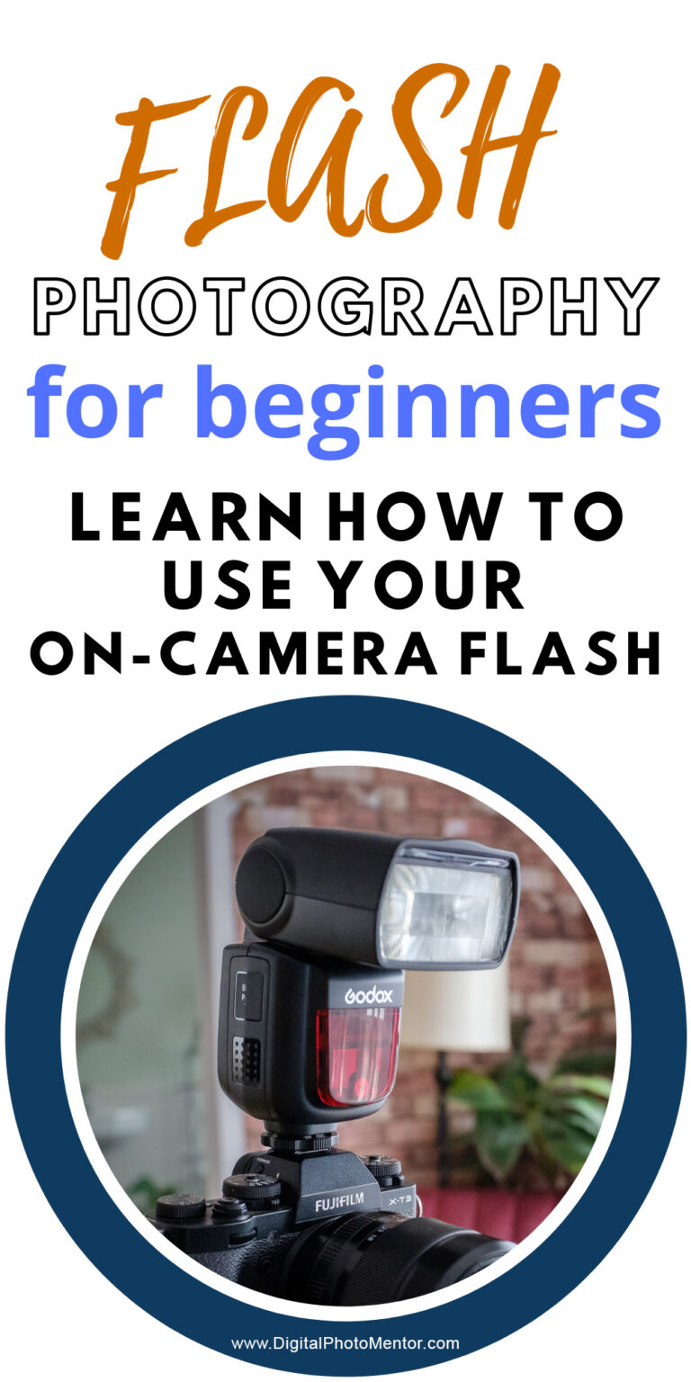 flash photography for beginners. Learn how to use your flash on-camera in this flash photography tutorial with examples.