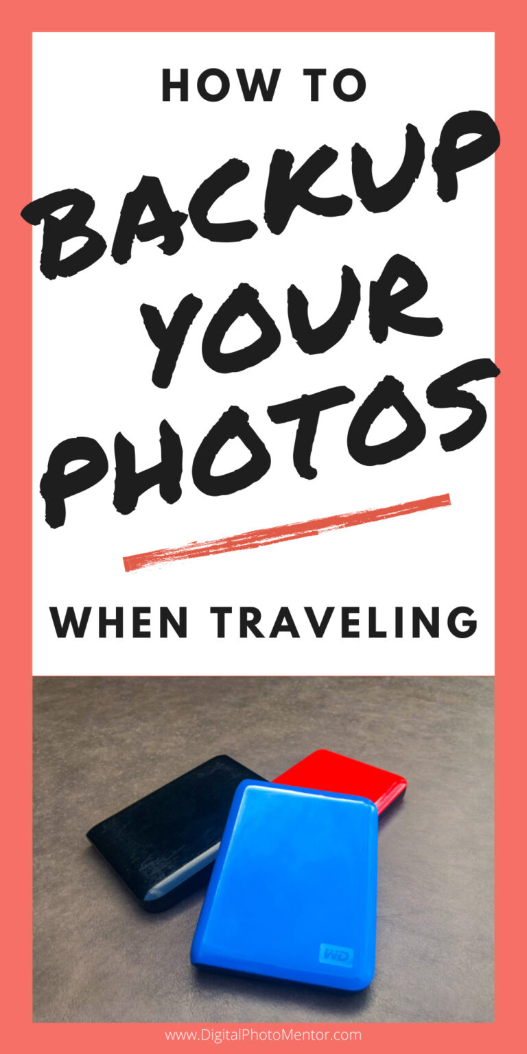 How to backup your photos when traveling