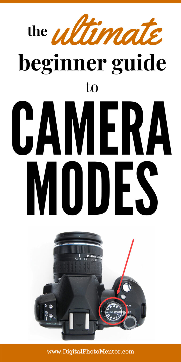 camera modes for beginners