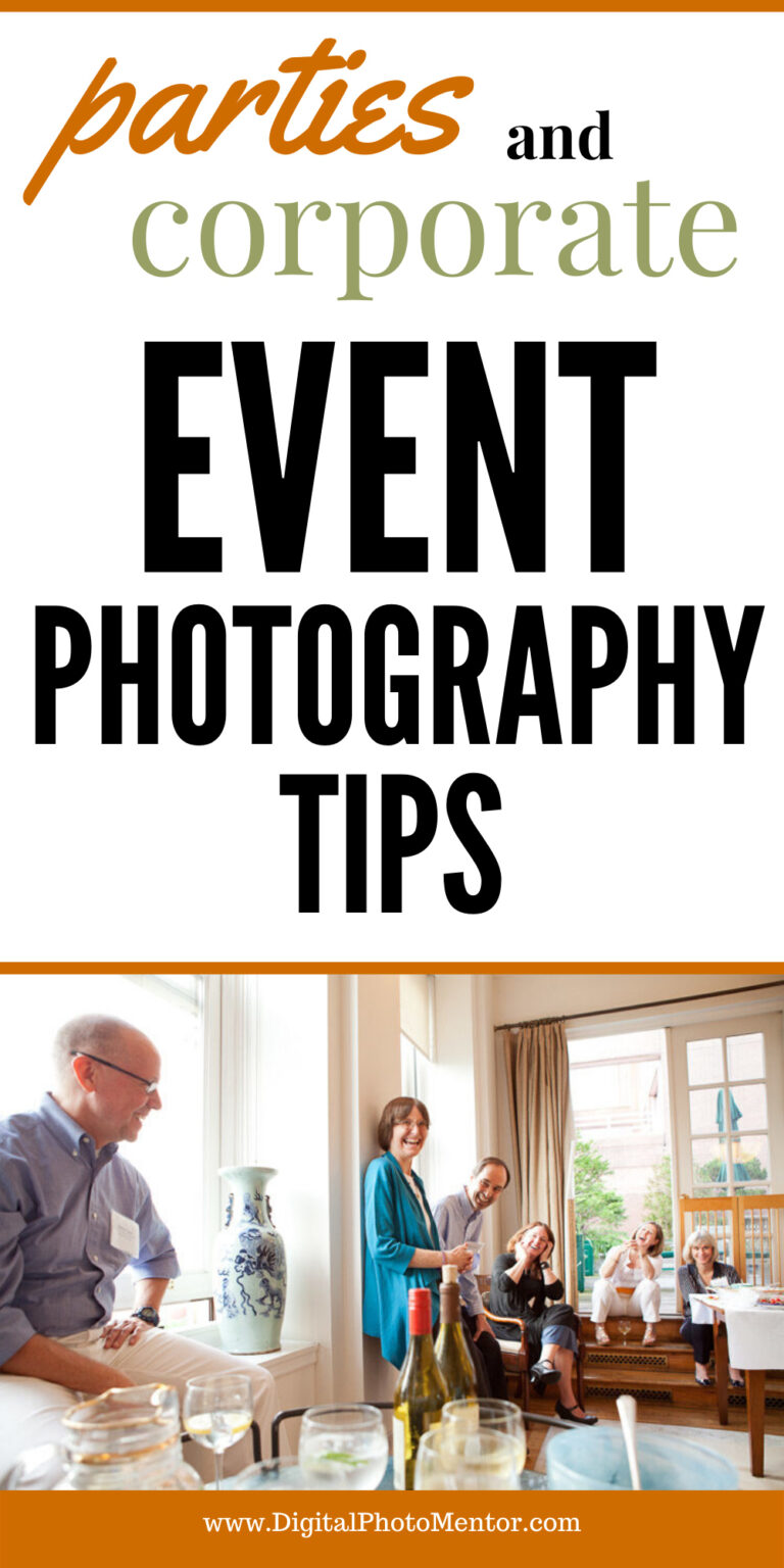 Event photography tips for parties and corporate events