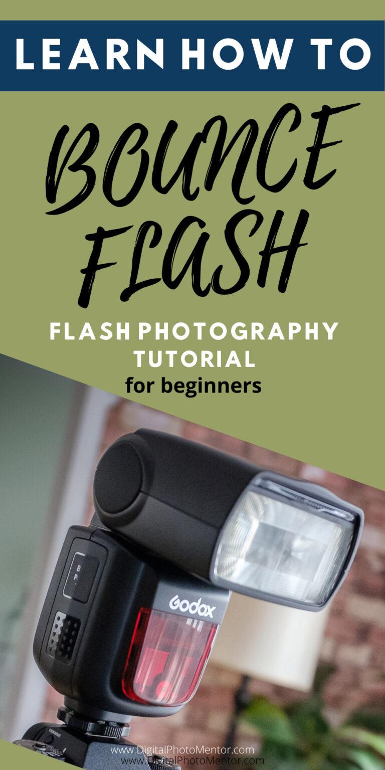 flash photography tips bounce flash