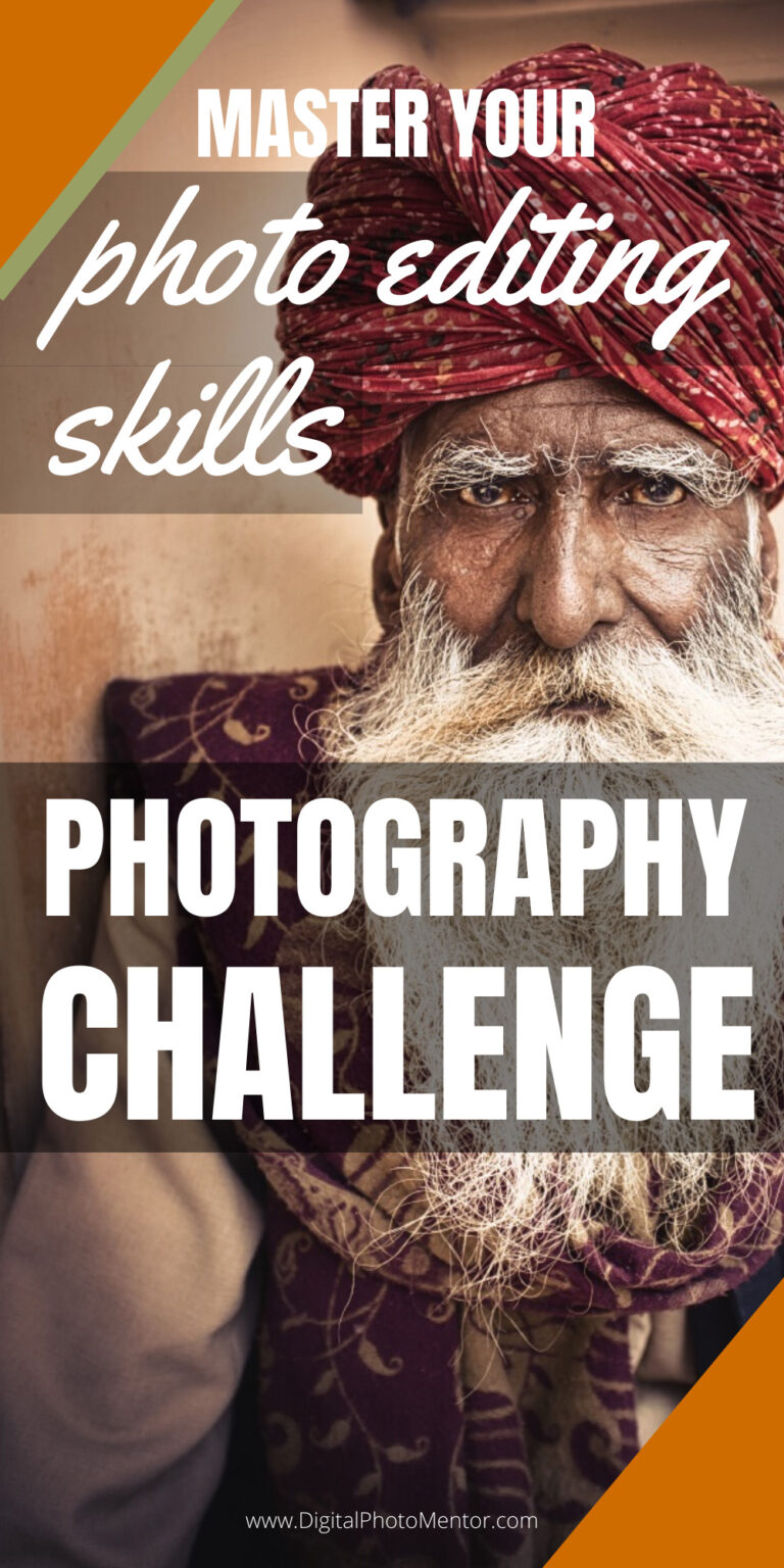 photography challenge for photo editing