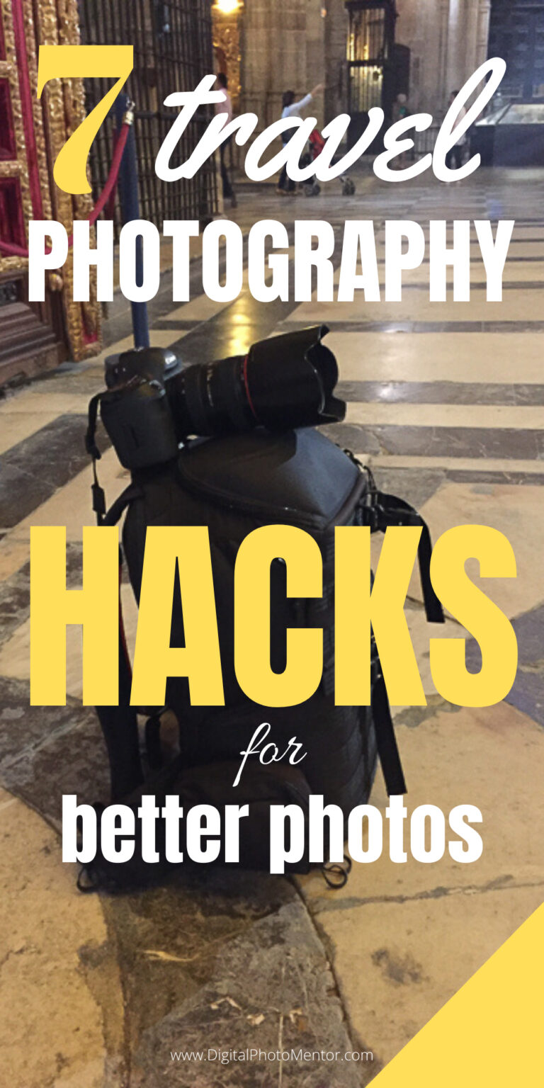 travel photography hacks for better photos on vacation or holiday