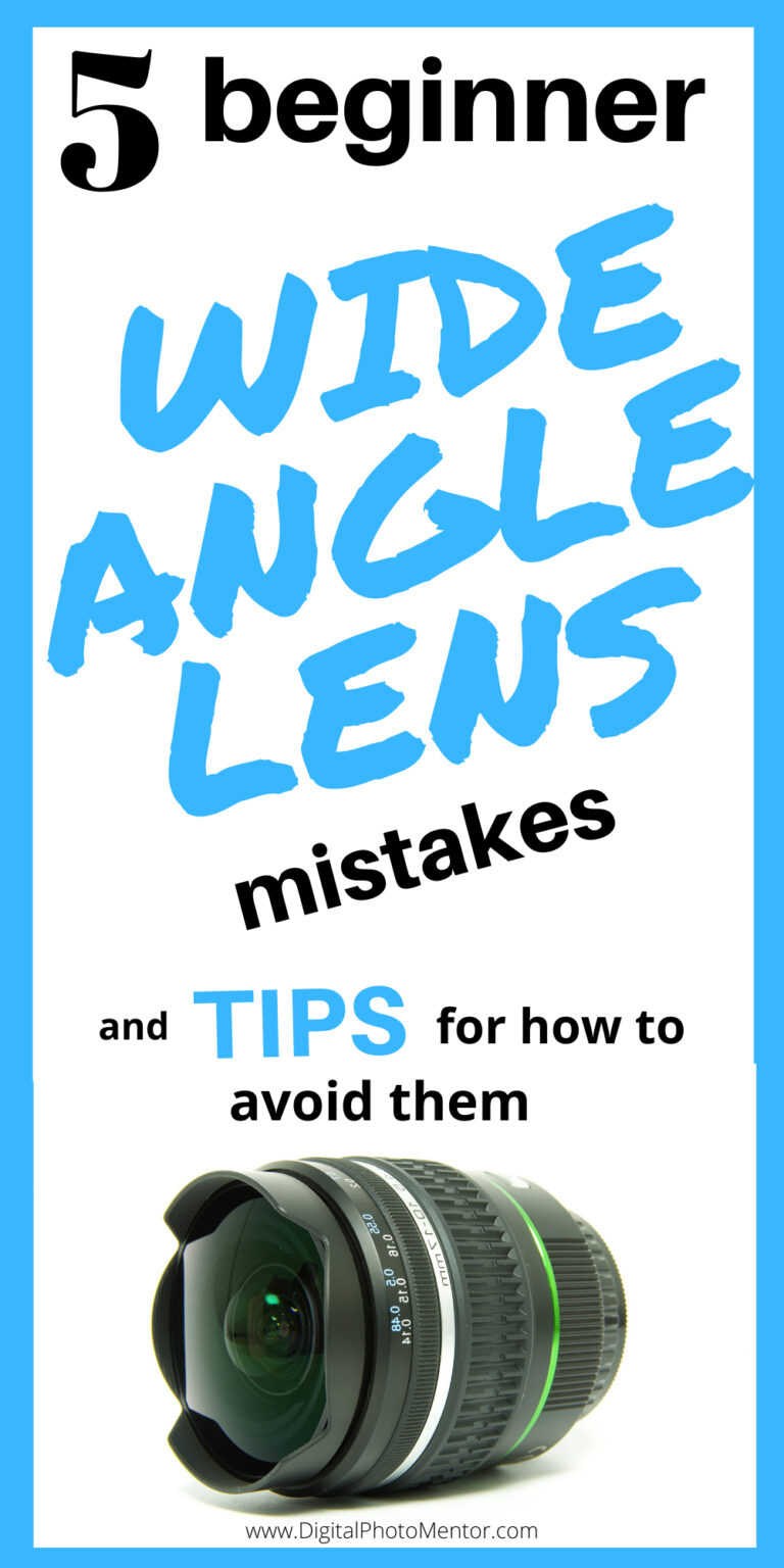 wide angle lens tips for beginners