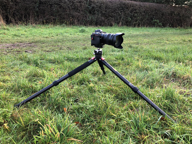 landscape photography tripod legs will need to be able to hold camera safely at a low angle to the ground