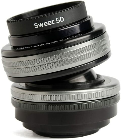 lensbaby sweet 50 camera lens for creative effects