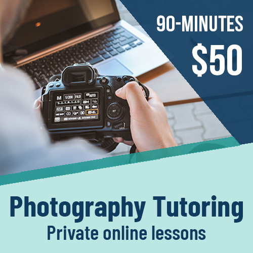 online photography tutoring