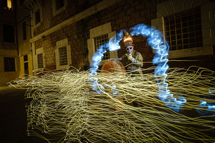 an interesting effect of light painting