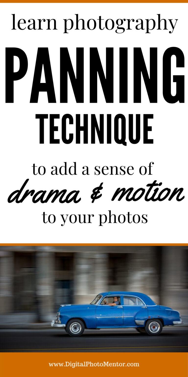 panning technique