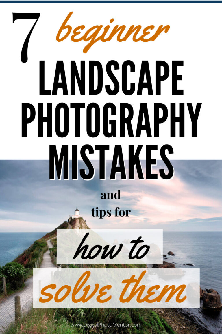 beginner landscape photography tips