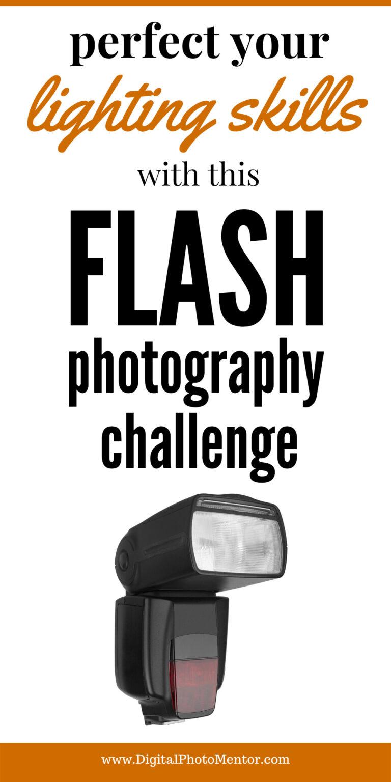 flash photography challenge
