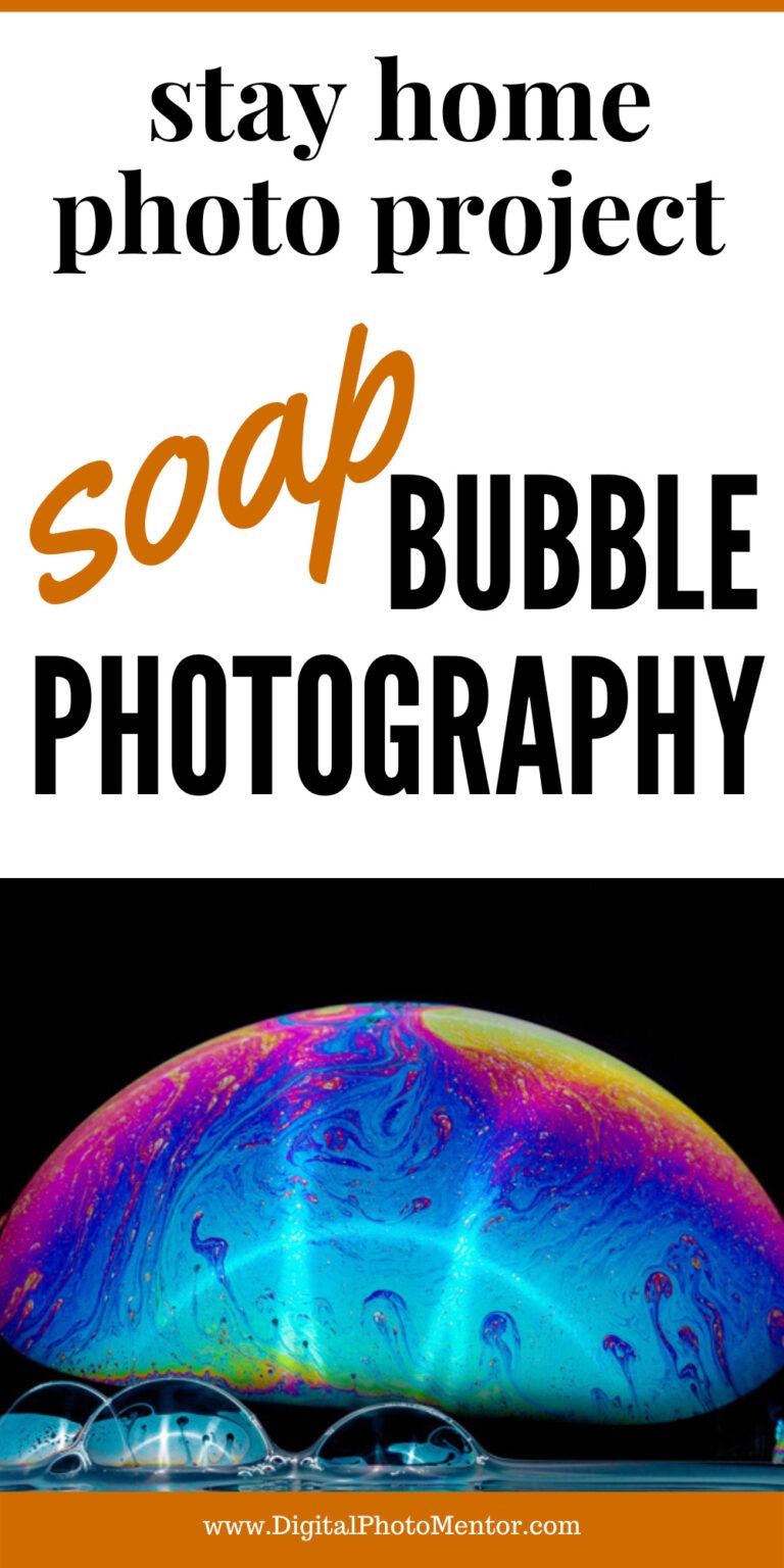 soap bubbles photography
