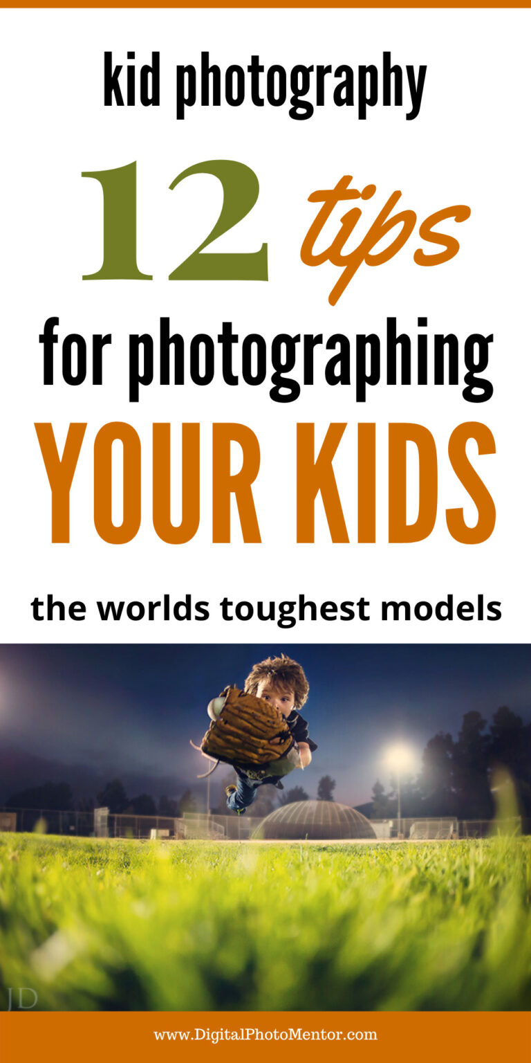 kid photography tips for moms