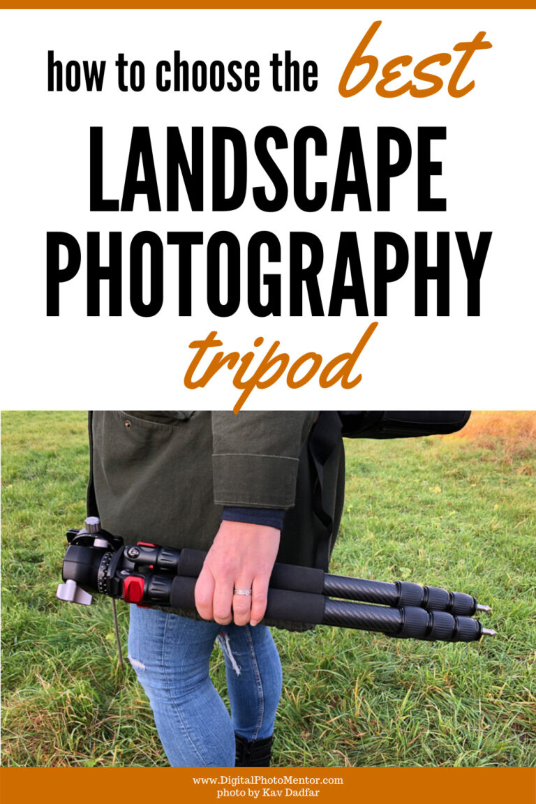 how to choose the best landscape photography tripod