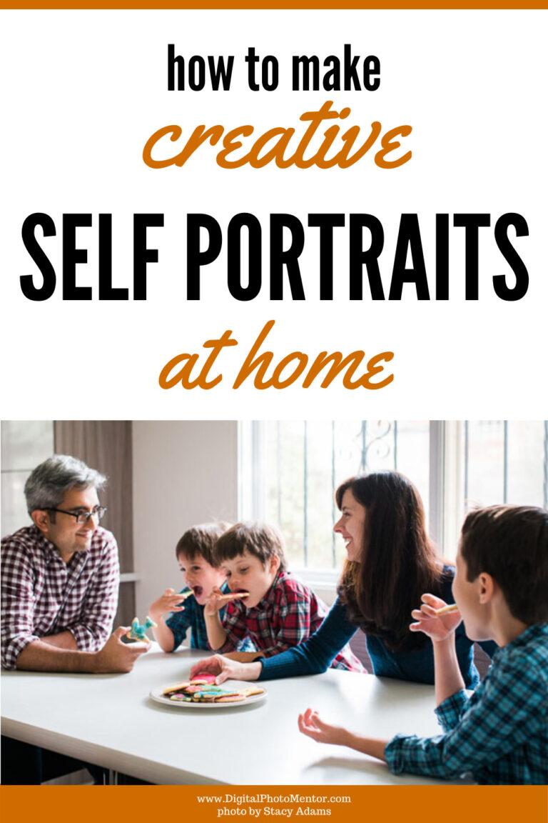self portrait photography tips at home