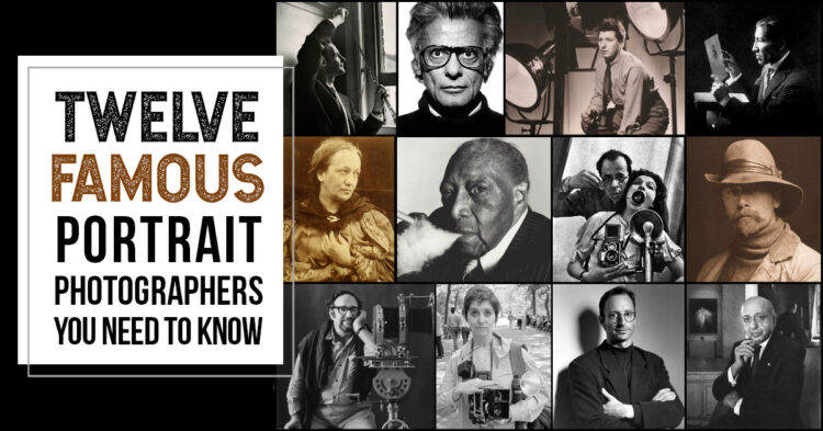 famous portrait photographers from history