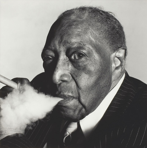 Famous portrait photographer James Van Der Zee