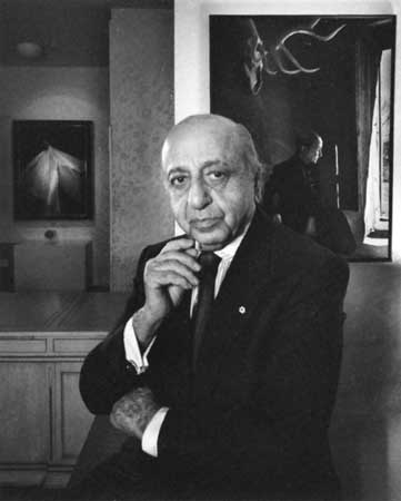 Famous portrait photographer Yousuf Karsh self portrait