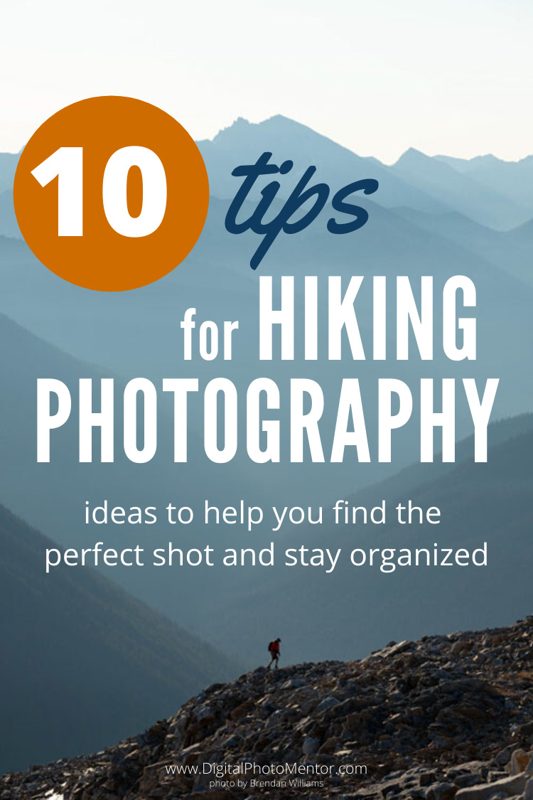 hiking photography tips