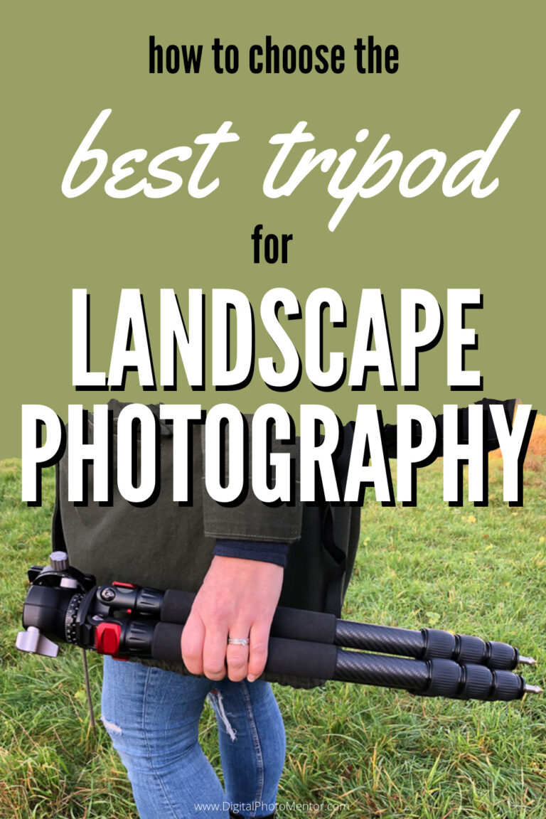 best tripod for landscape photography