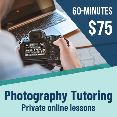 private online photography tutoring