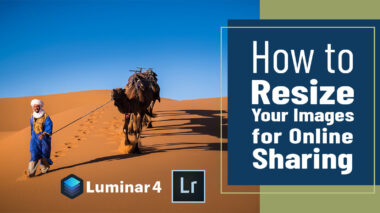 how to resize photos and images for email and social media