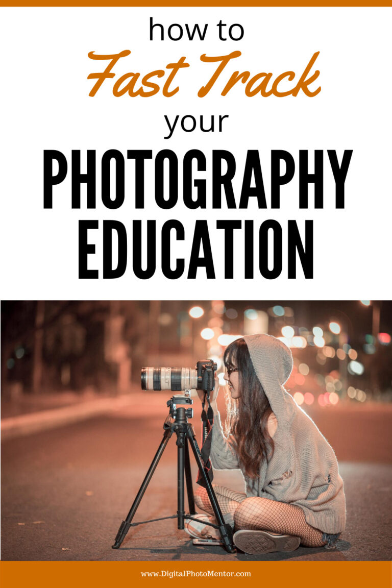 rapidly improve your photography education and skills