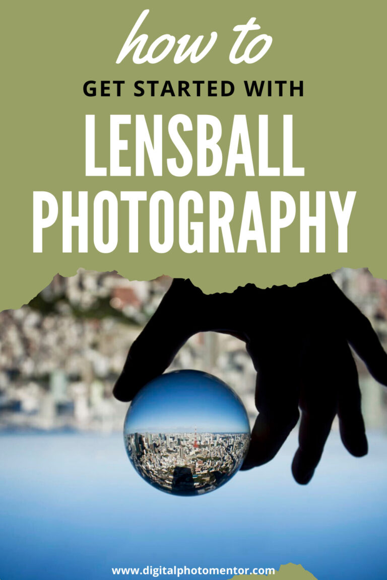 how to do lensball photography