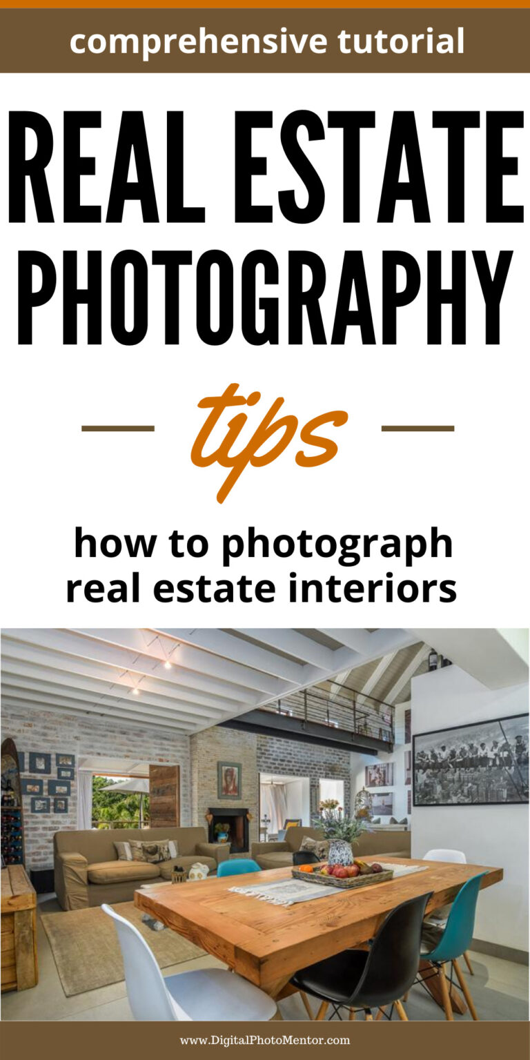 real estate photography tutorial