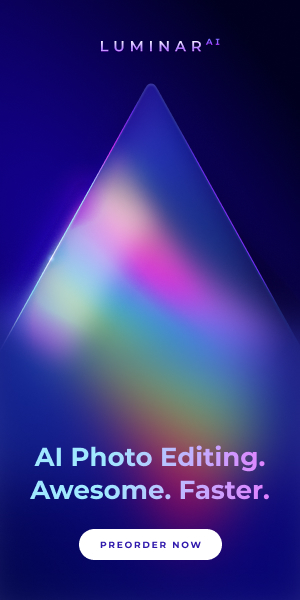 Luminar AI Pre-order banner