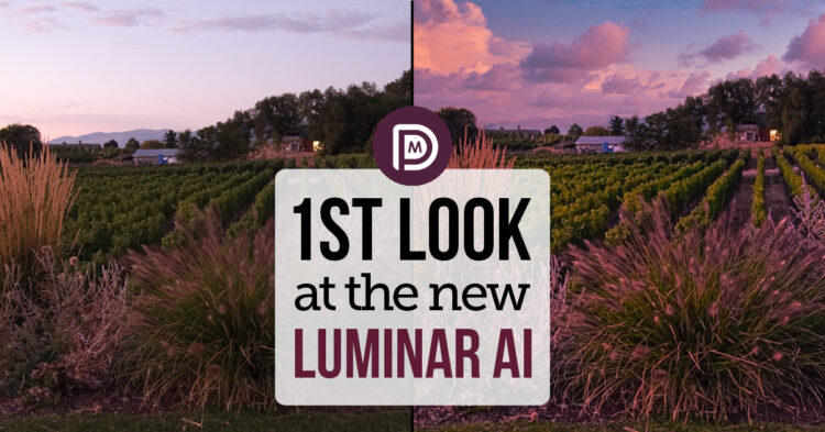 First Look Inside Luminar AI Photo Editing Software