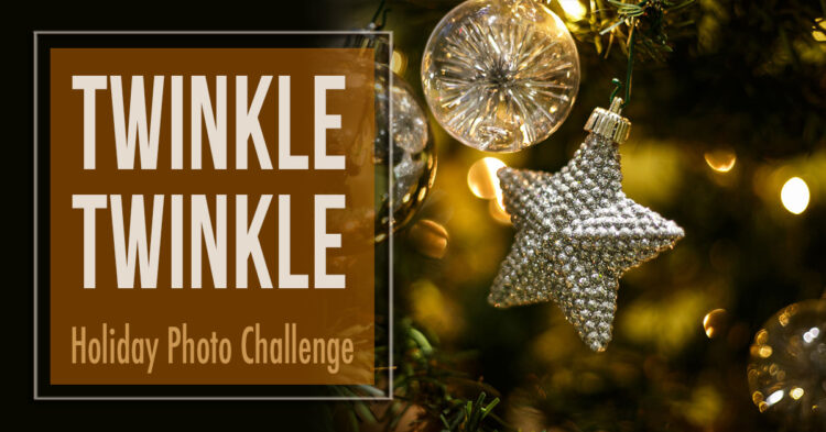 Holiday Photography Challenge #1 – Twinkle Twinkle Little Lights