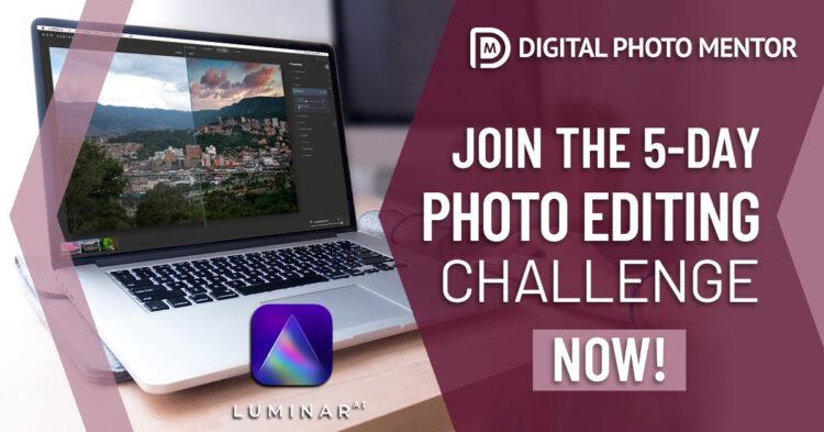 5 day photo editing challenge