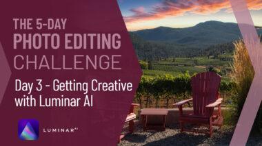 Luminar AI tutorial editing challenge