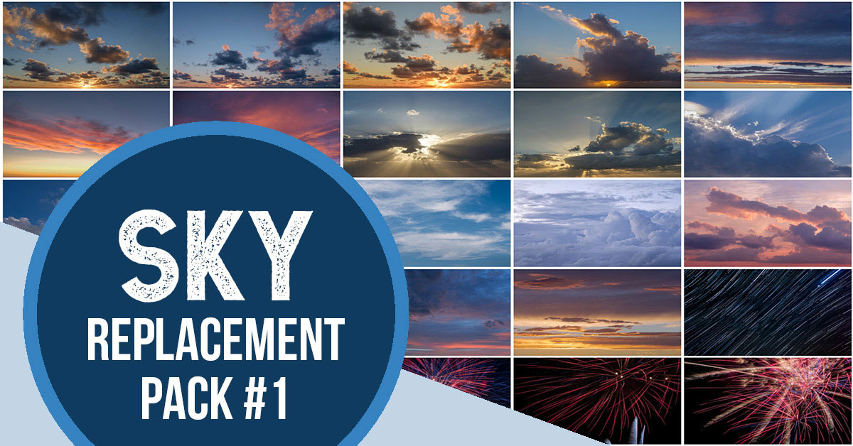 sky replacement pack