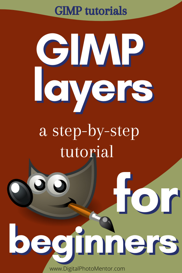 gimp tutorials how to use layers in GIMP