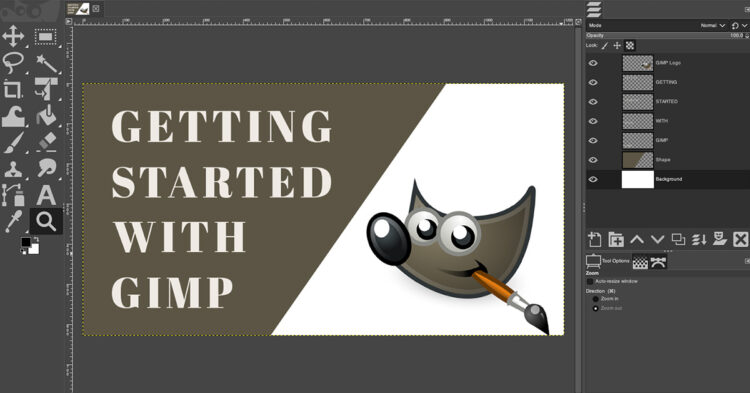 how to use gimp photo editing software