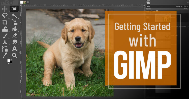 getting started with gimp photo editing software