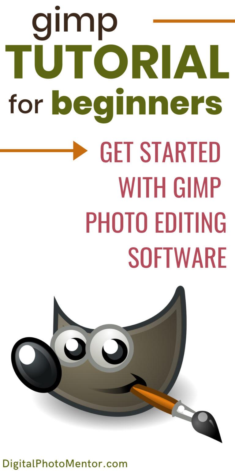 gimp tutorial for beginners
