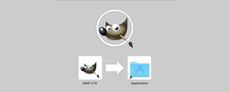 installing GIMP 2 on Mac