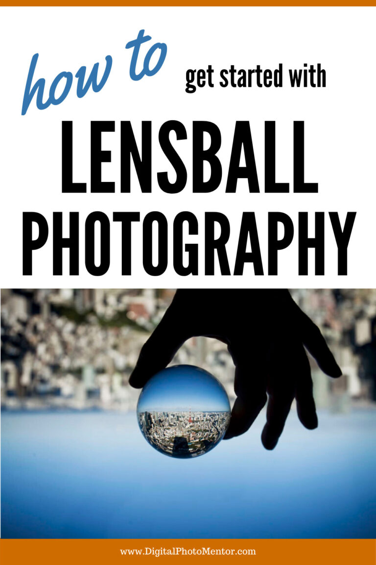 how to get started with lensball photography