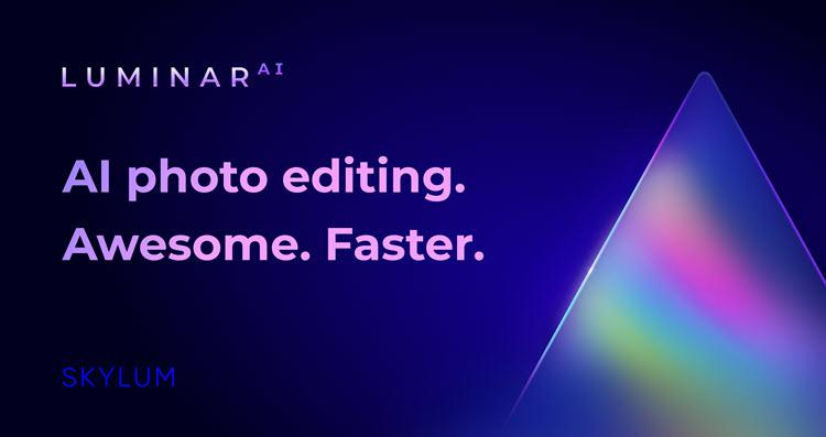 Luminar AI photo editing software