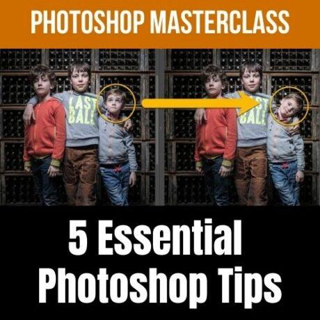 Photoshop Masterclass 5 essential photoshop tips