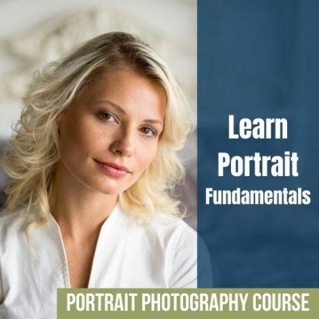 portrait photography course